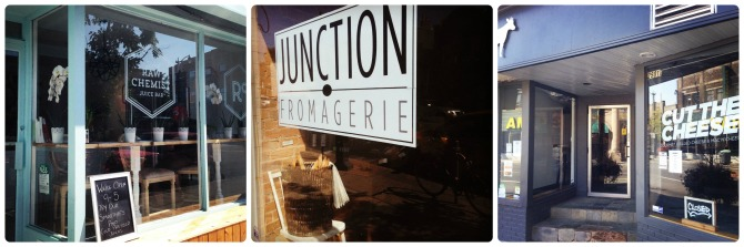 The recently opened Raw Chemist Juice Bar, the local fromagerie and gourmet grilled cheese...